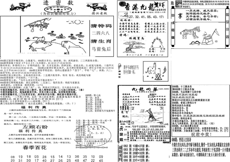086期新透密数A(新)(黑白)