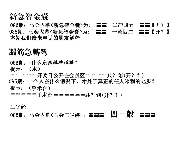 086期新急智金囊(黑白)