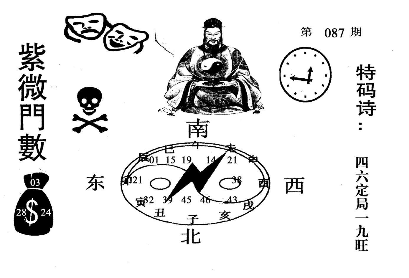 087期老版紫微倒数(黑白)