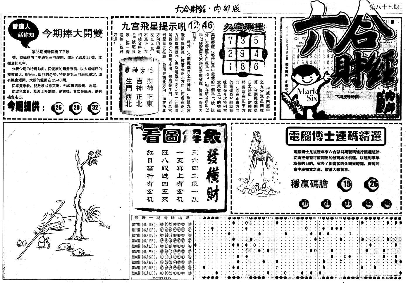 087期另版中财经A(黑白)