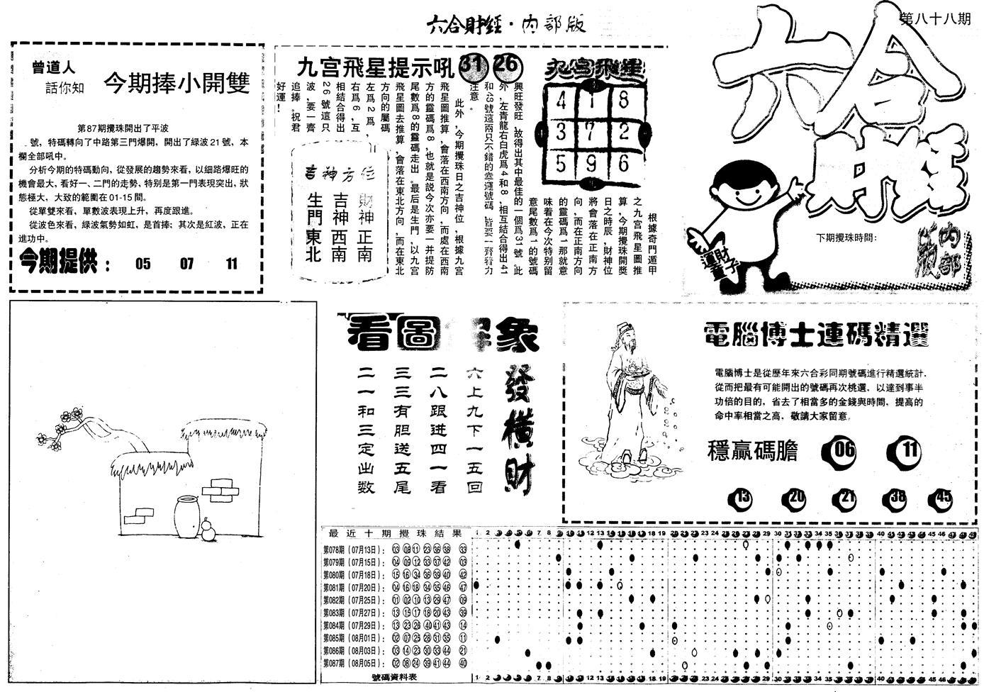 088期另版中财经A(黑白)