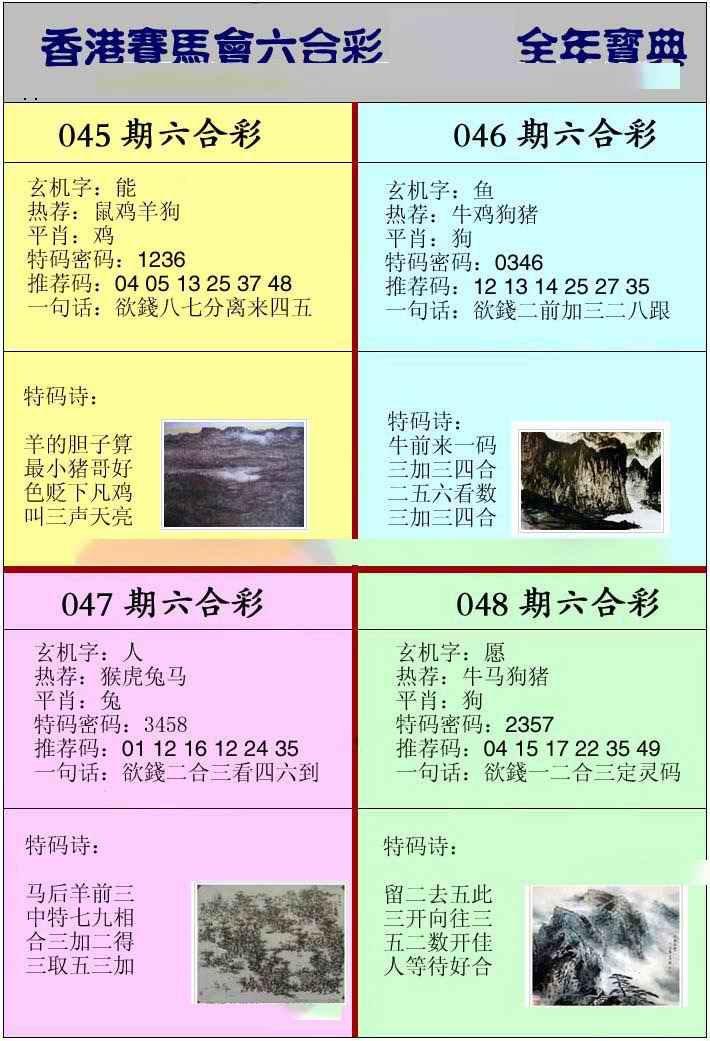 046期香港挂牌宝典