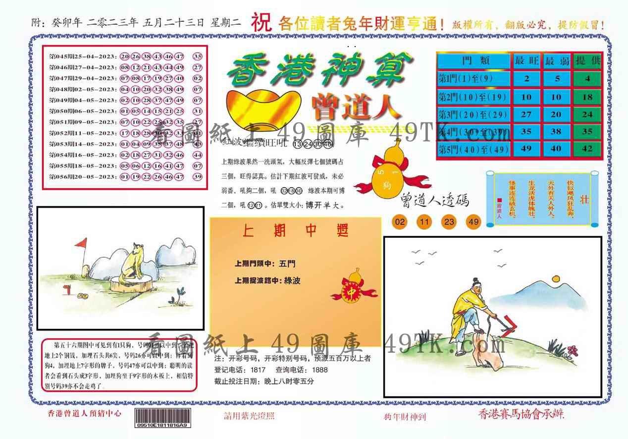 057期香港神算