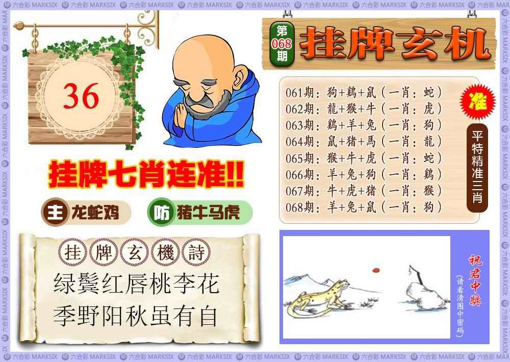 068期挂牌玄机(新图)
