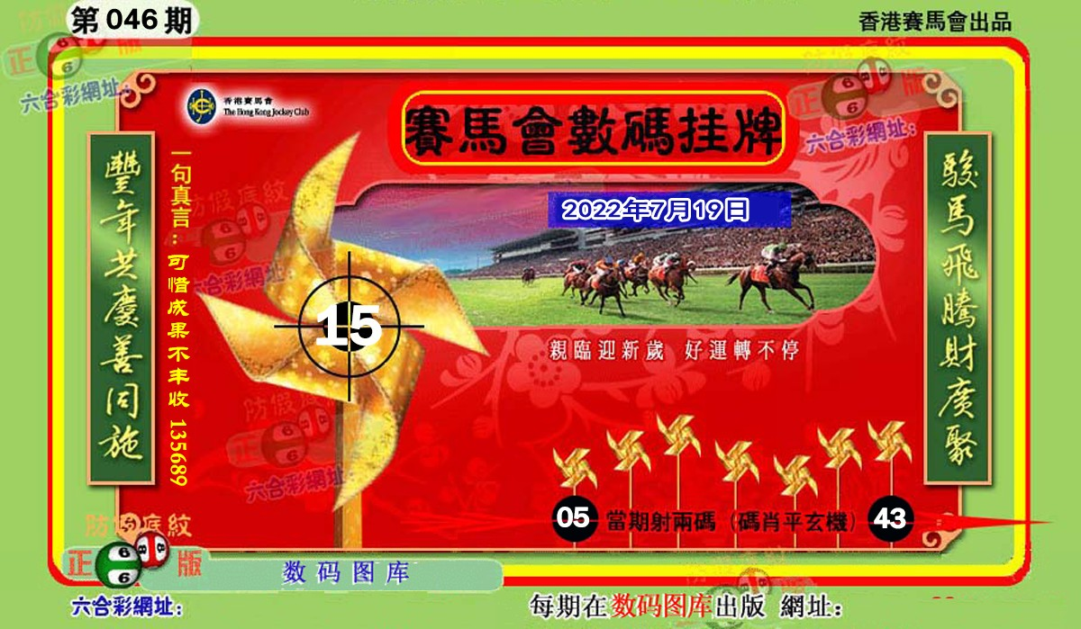 046期正版香港数码挂牌