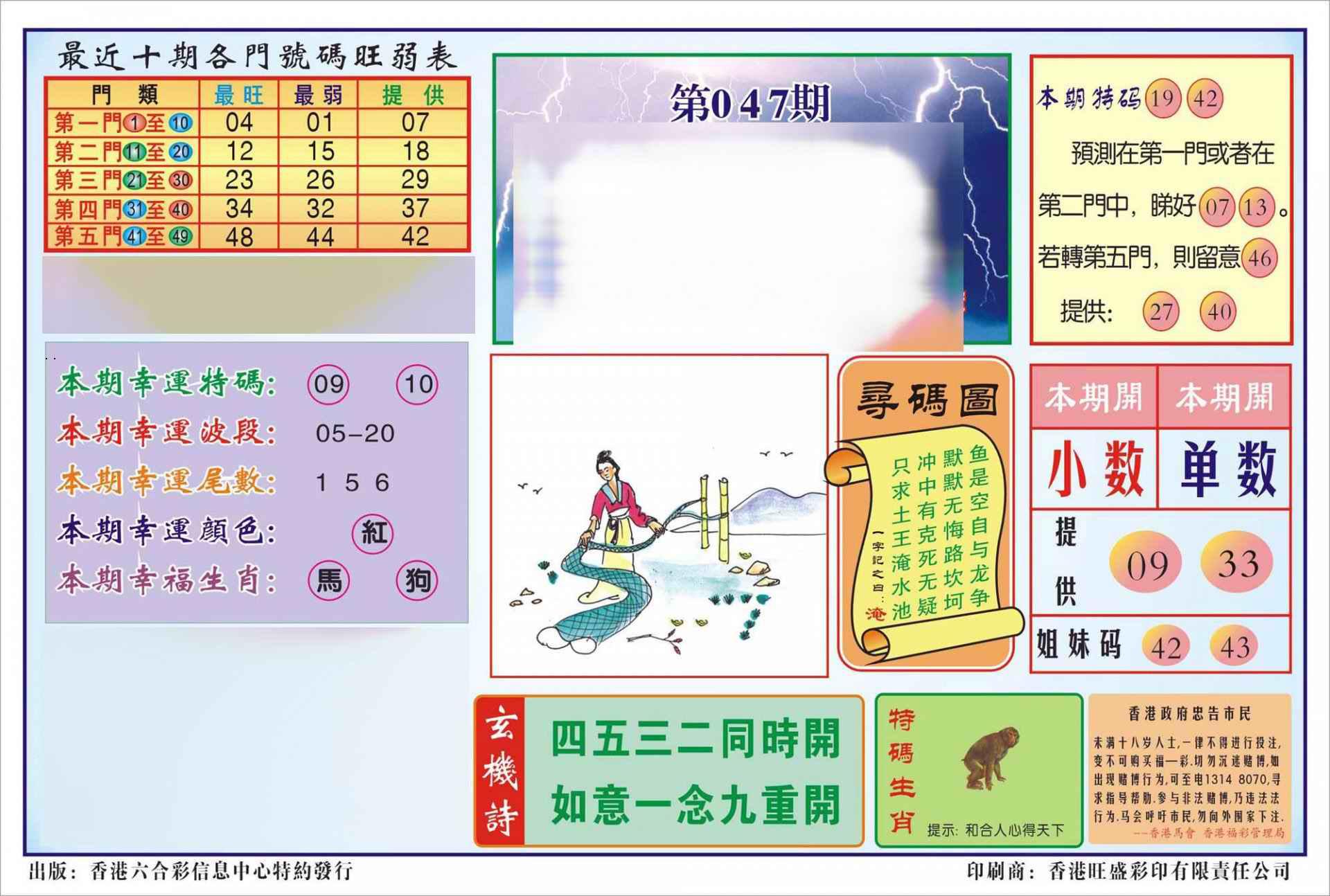 047期香港逢赌必羸(新图)