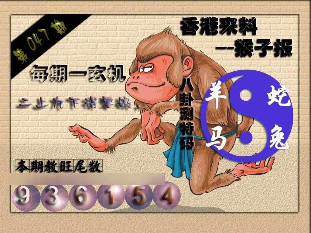 047期(香港来料)猴报