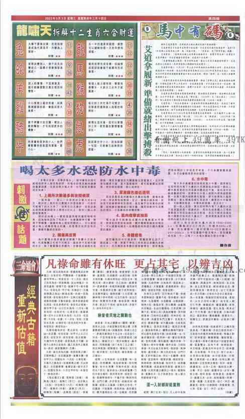 049期新报跑狗-1(正面)