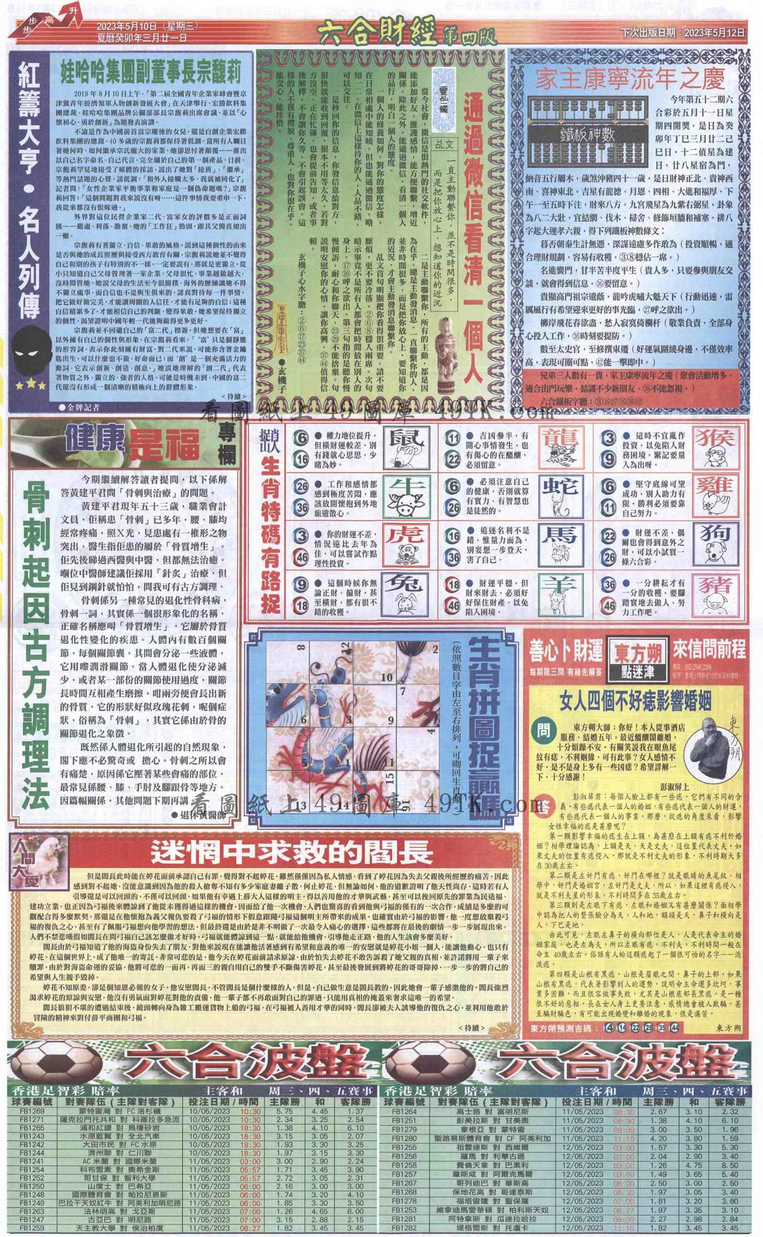 052期六合财经B加大版