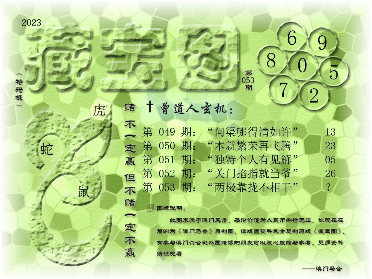 053期藏宝图