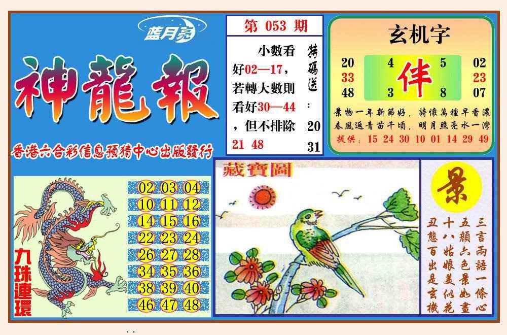 053期神龙报(新图)