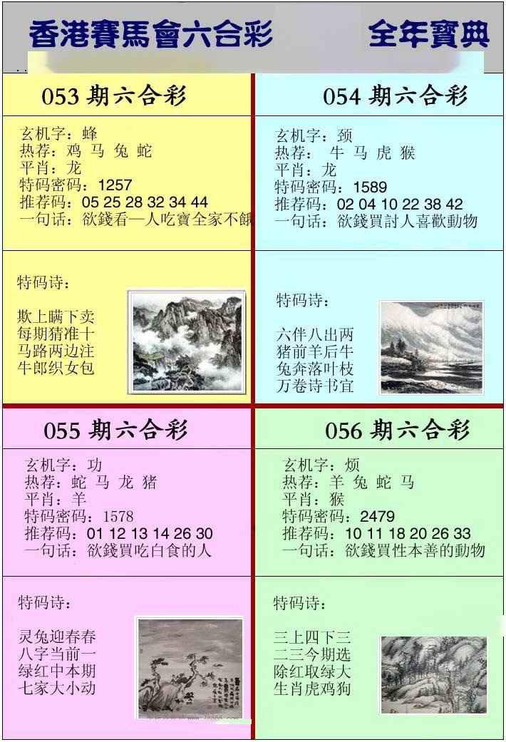 055期香港挂牌宝典