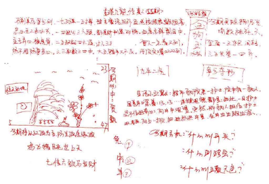 055期九龙传真(手写)