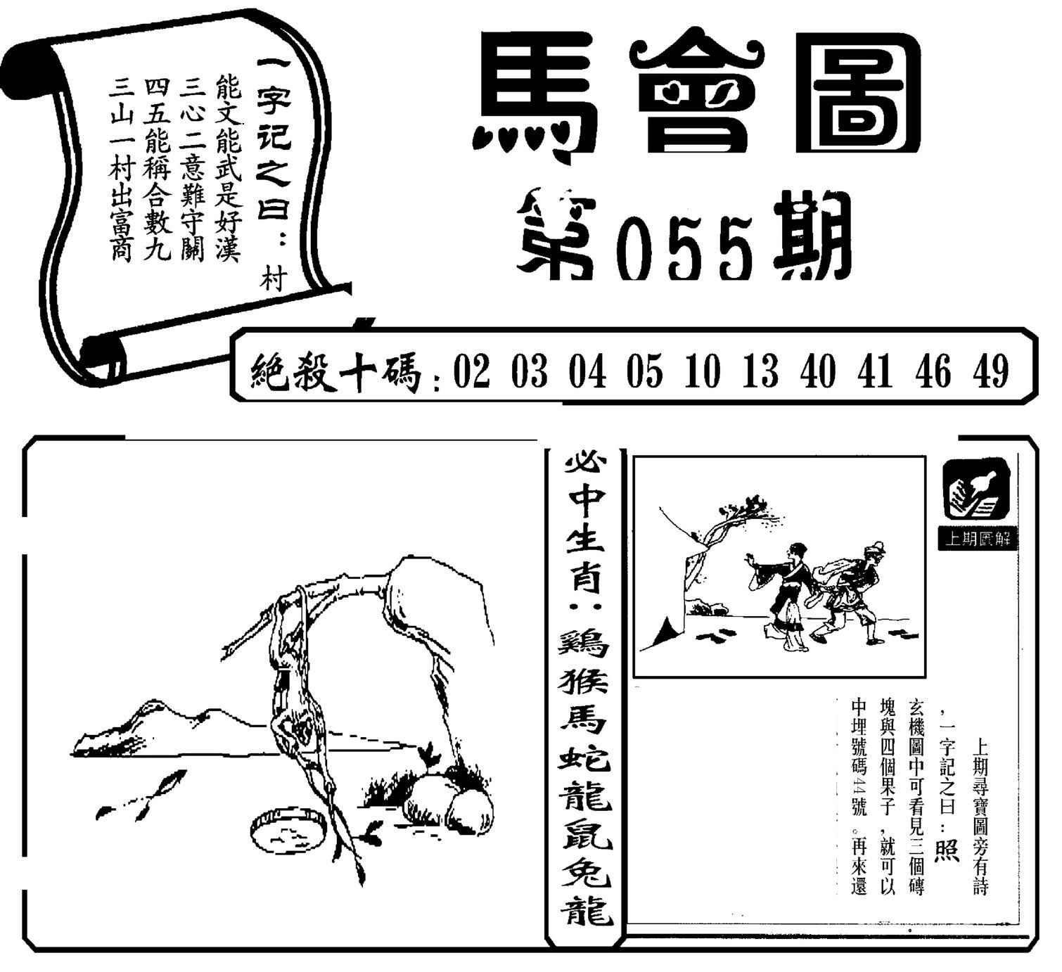055期马会图