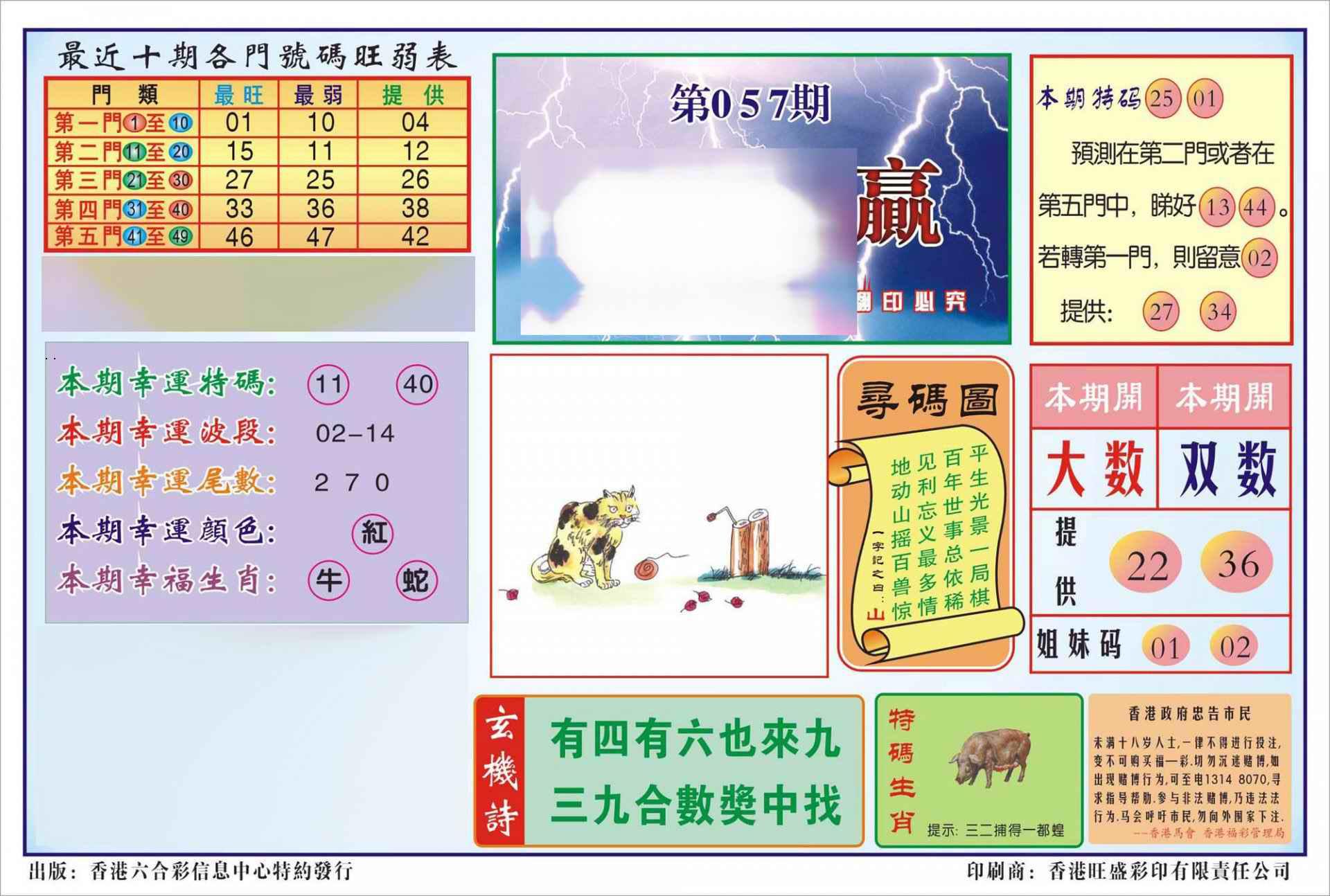 057期香港逢赌必羸(新图)