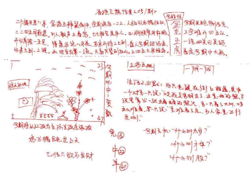 057期九龙传真(手写)