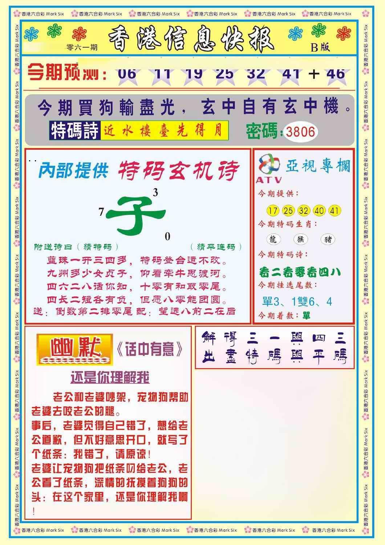 061期香港信息快报B(新)