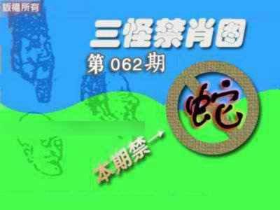 062期禁肖图《另版》