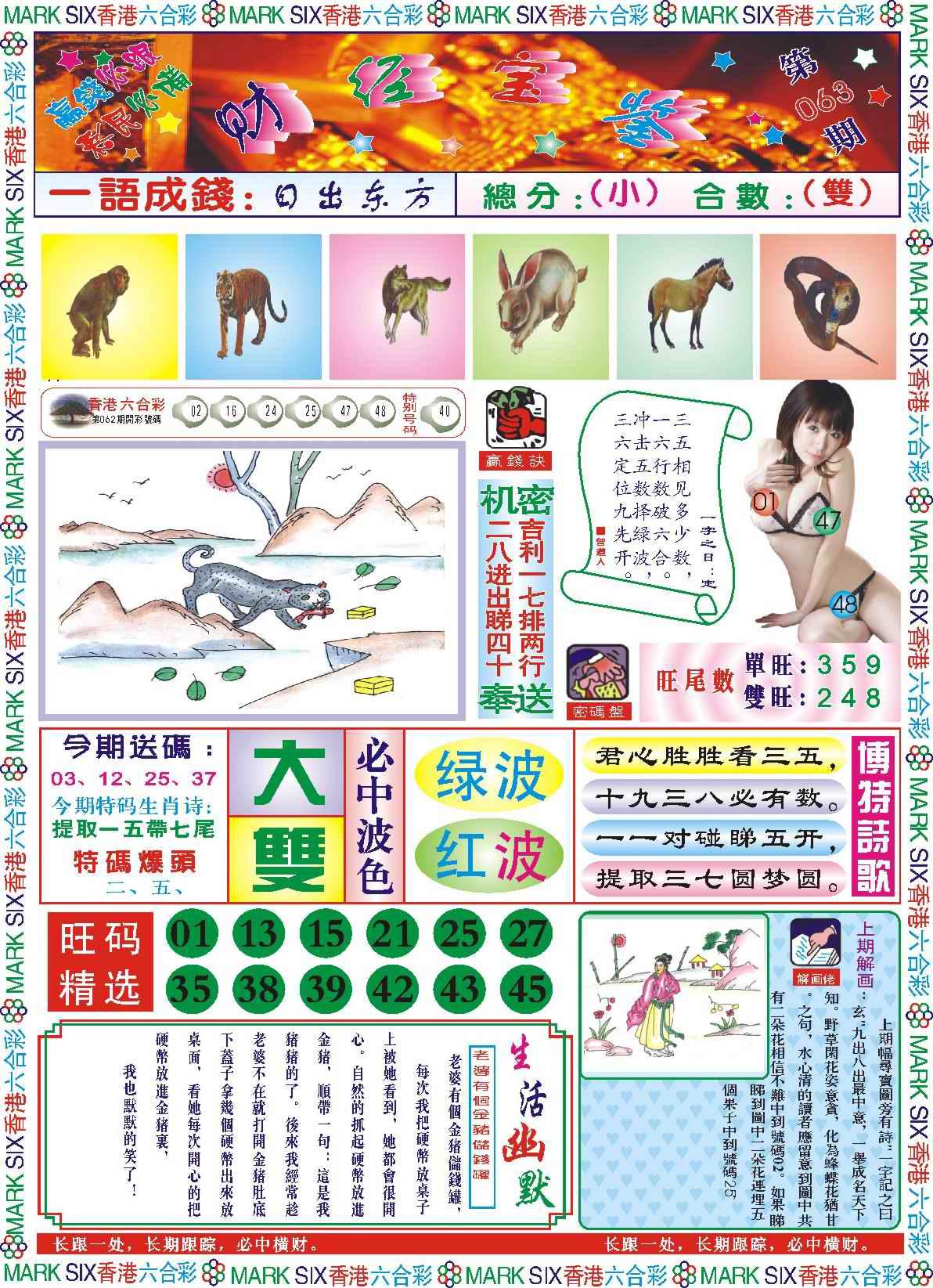 063期118财经宝鉴(新图)