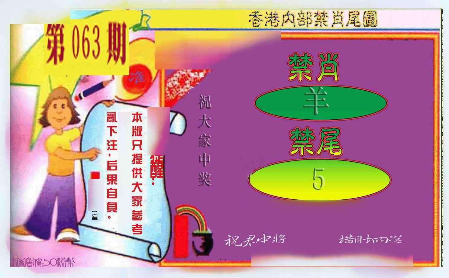 063期禁肖-禁尾图