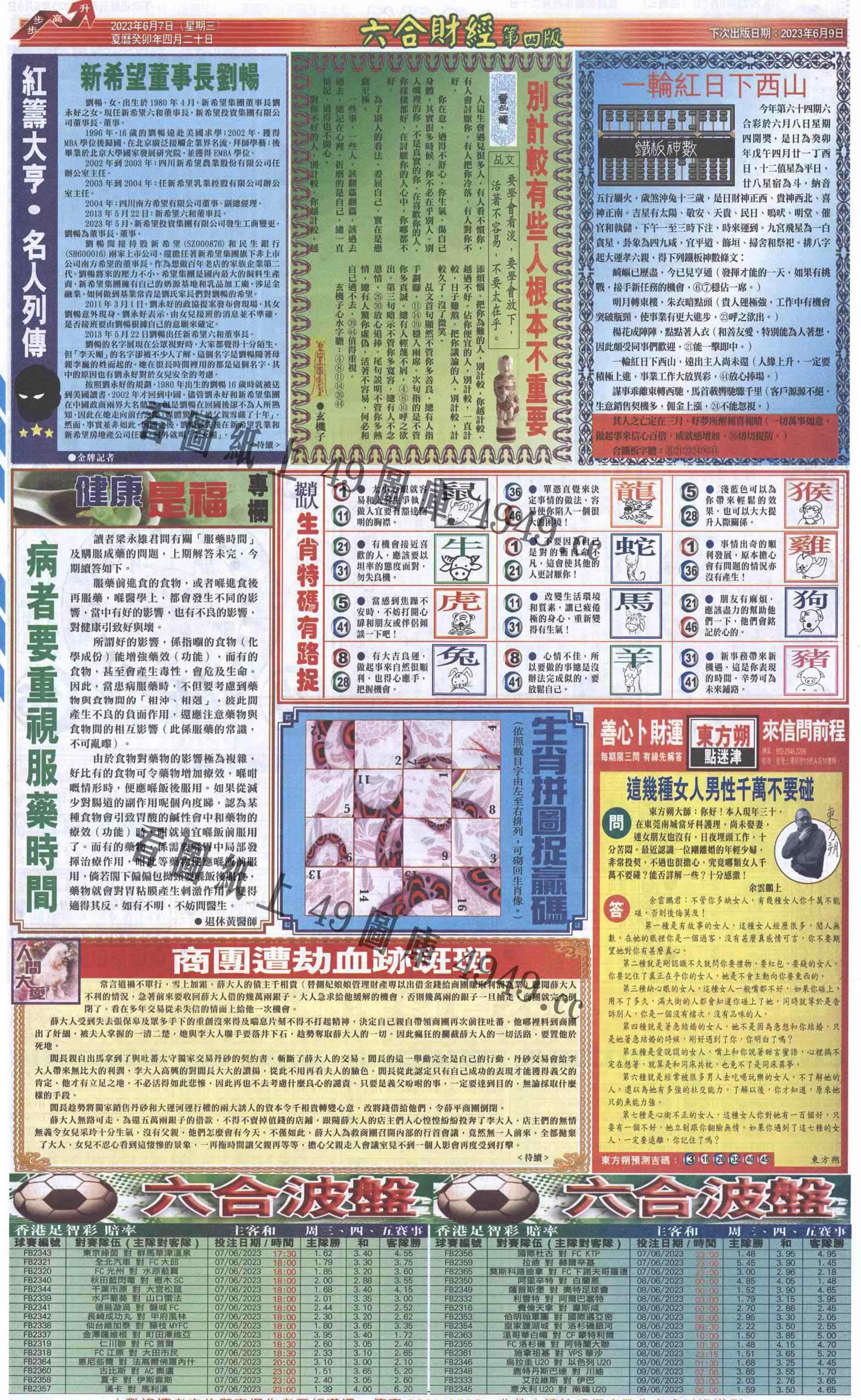 064期六合财经B加大版