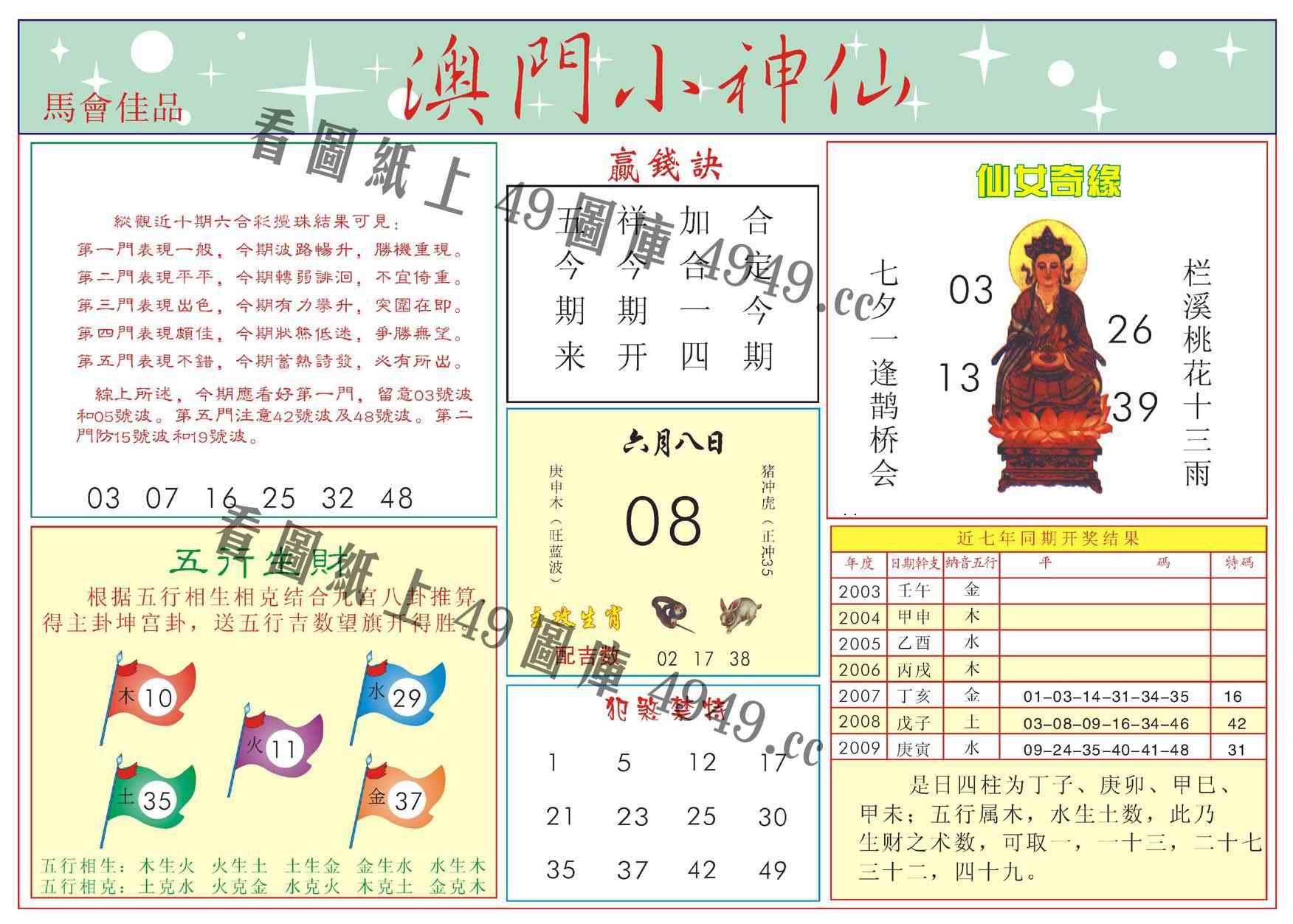 064期澳门小神仙-2