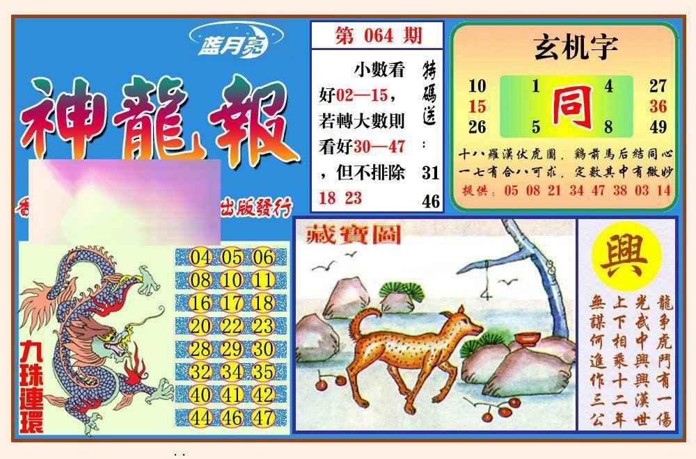 064期神龙报(新图)