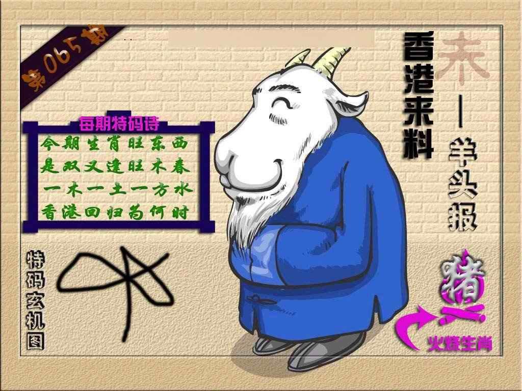 065期(香港来料)羊报