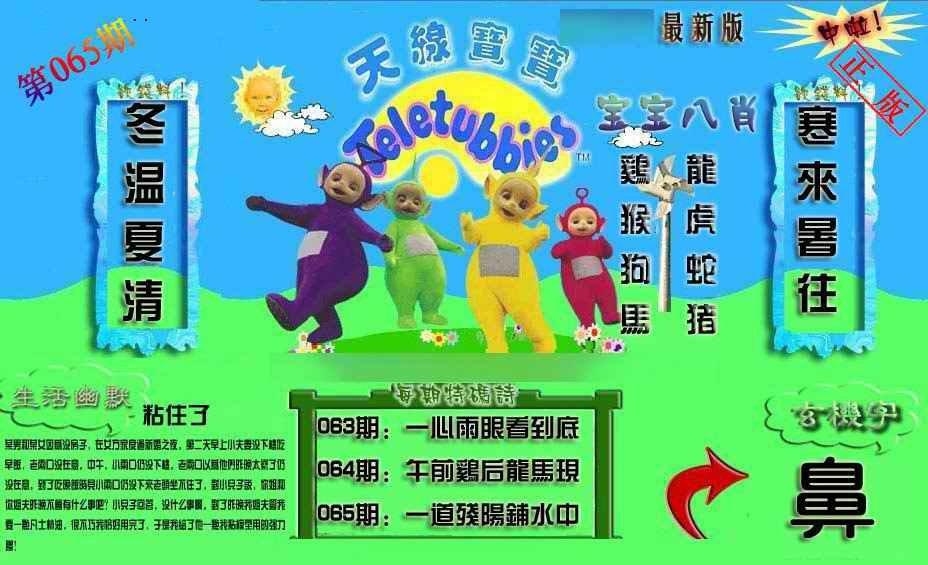 065期新天线宝宝(2006一版)