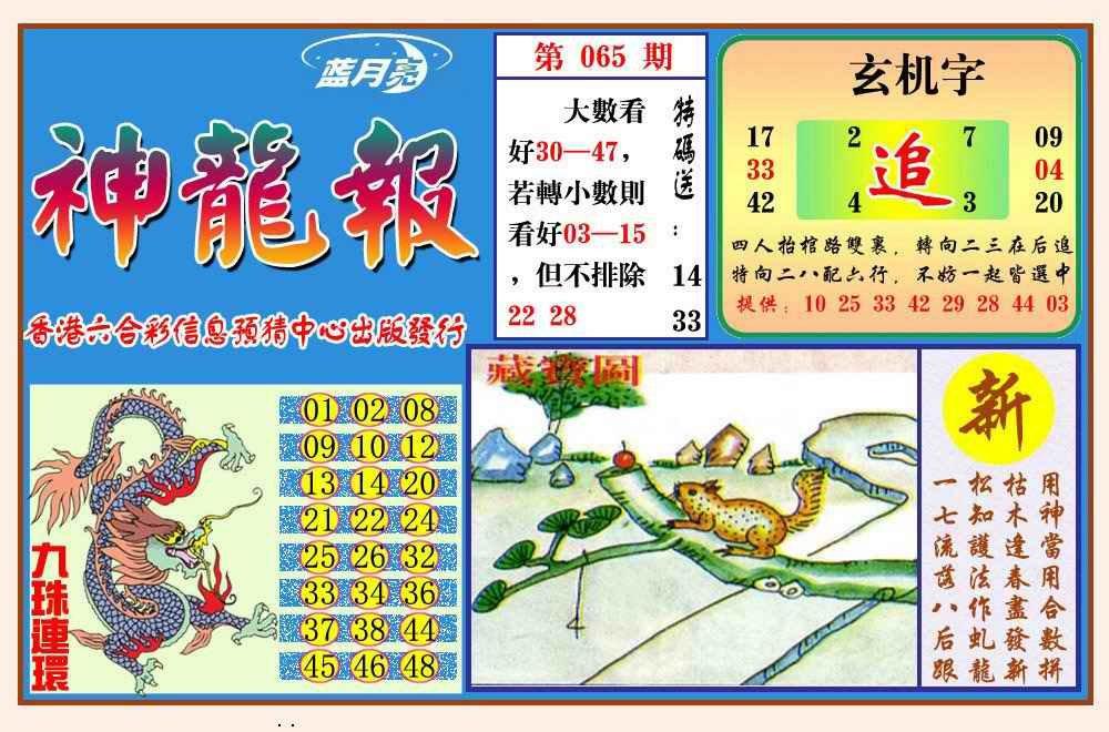 065期神龙报(新图)