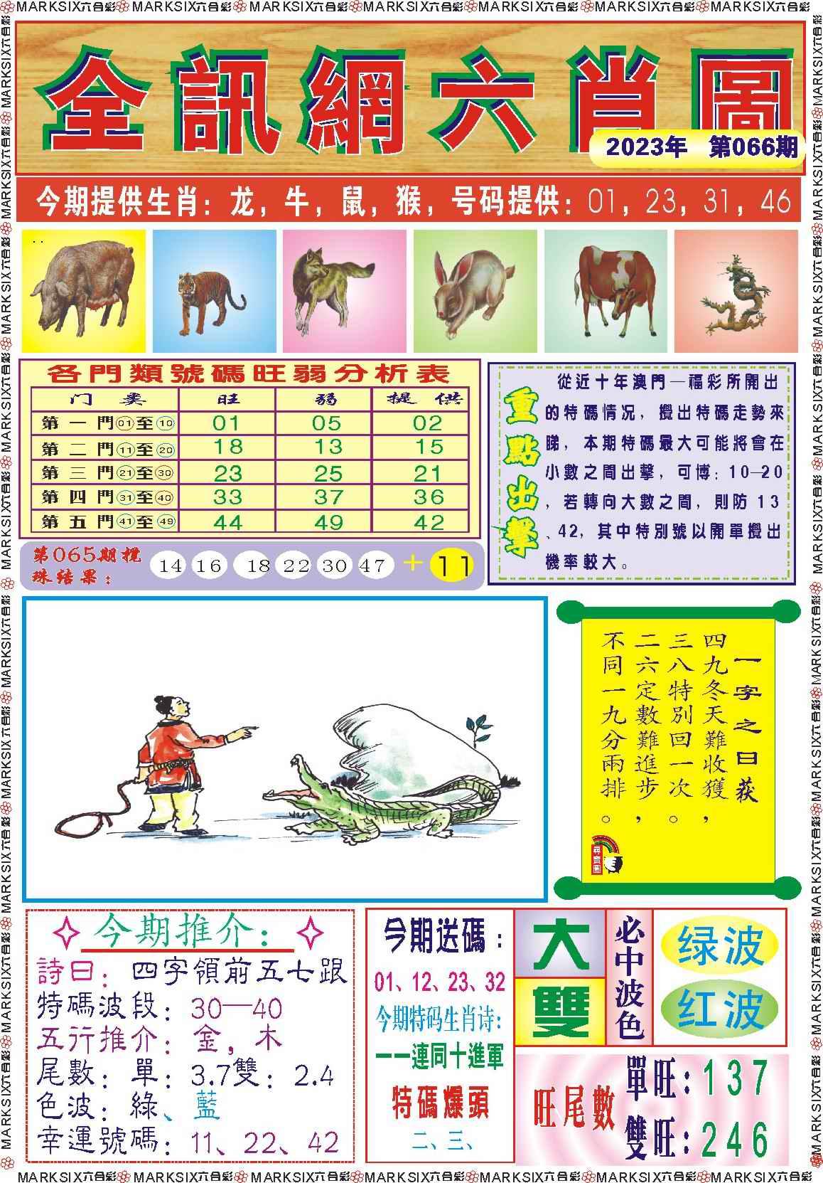 066期全讯网六肖图记录