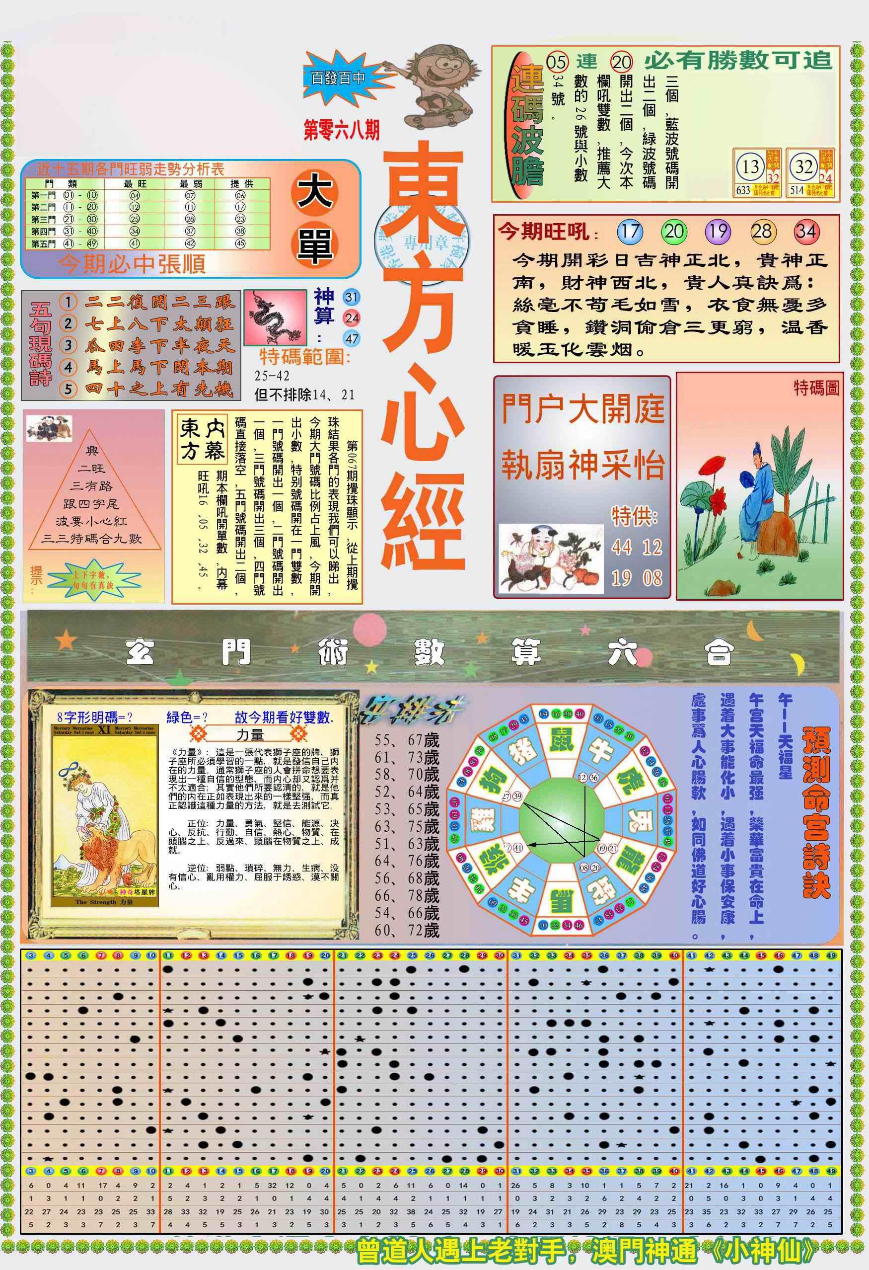 068期(新版)东方心经A