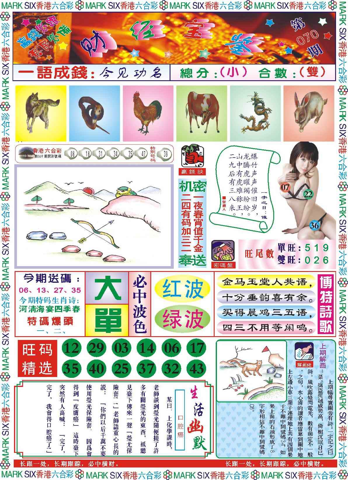 070期118财经宝鉴(新图)
