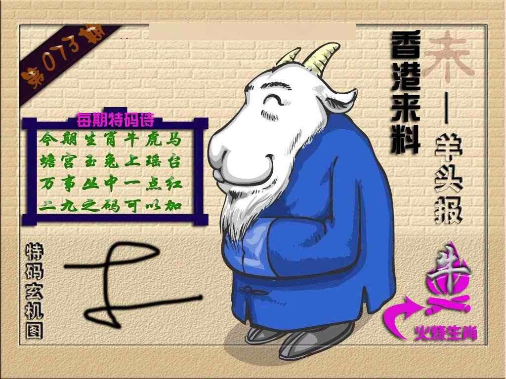073期(香港来料)羊报