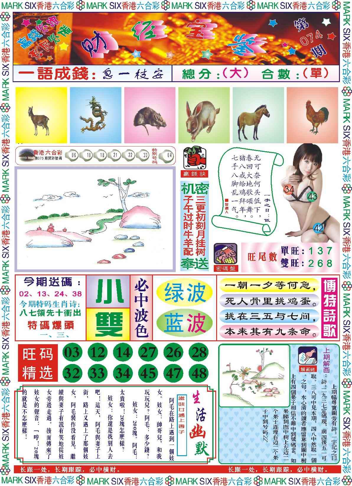 074期118财经宝鉴(新图)