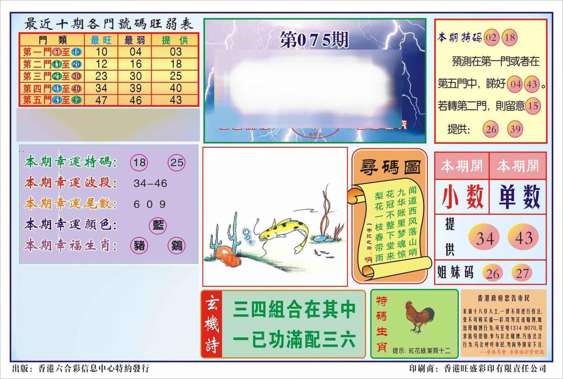 075期香港逢赌必羸(新图)