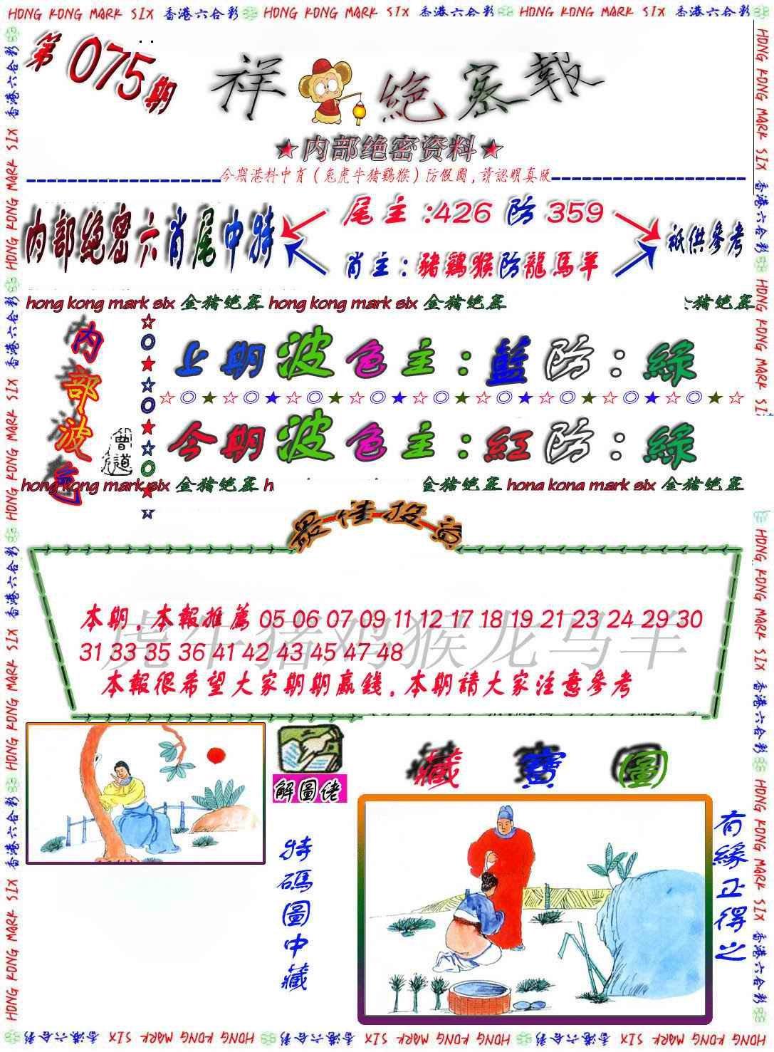 075期金鼠绝密图