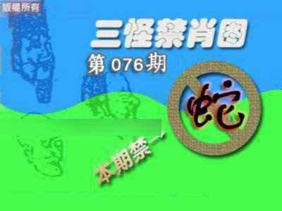 076期禁肖图《另版》