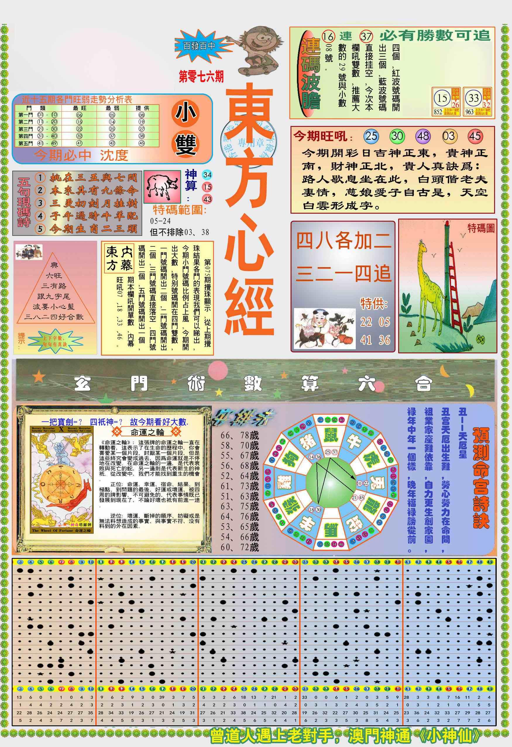 076期(新版)东方心经A
