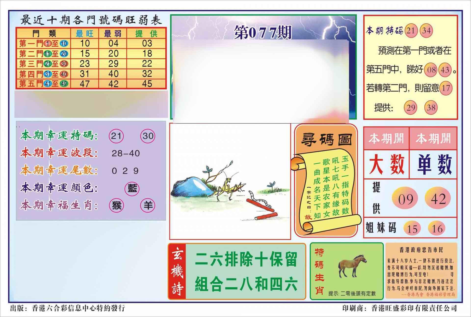 077期香港逢赌必羸(新图)