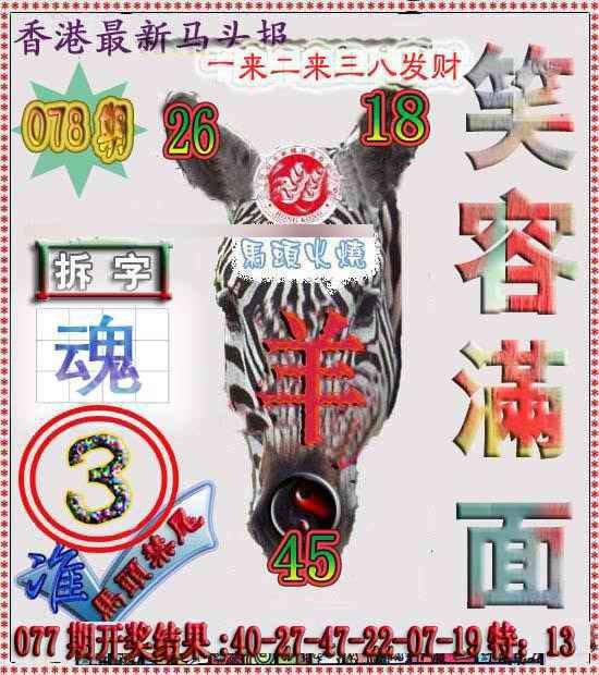 078期香港马头报