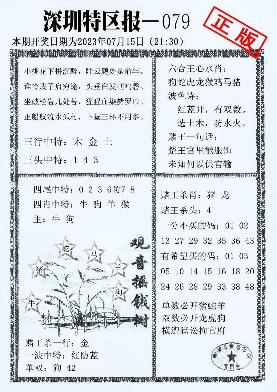 079期深圳特区报A