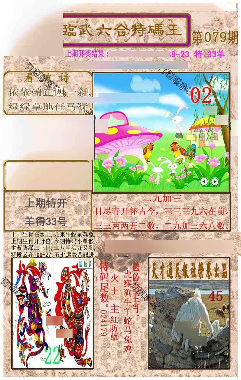079期临武六合特码王