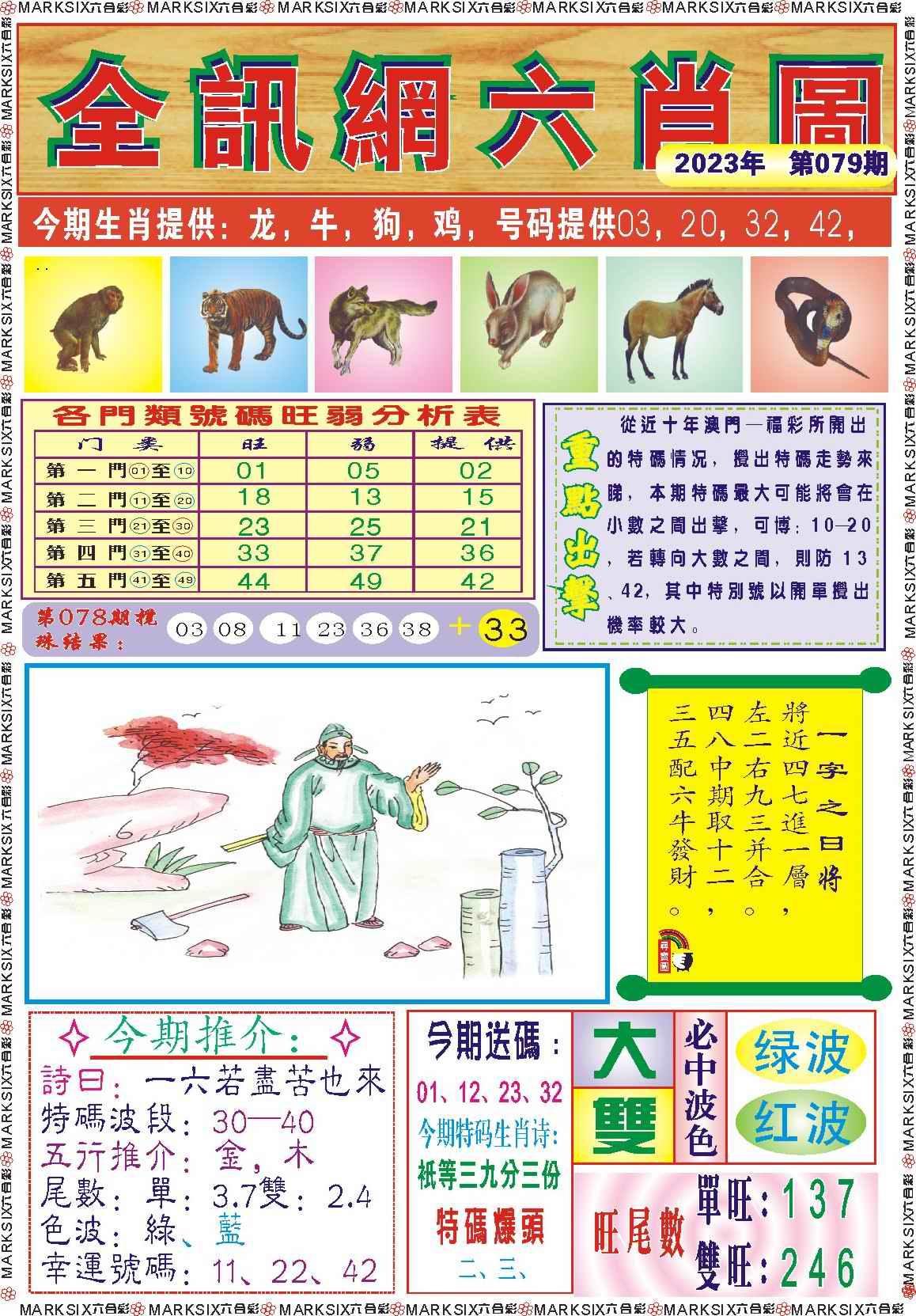 079期全讯网六肖图记录
