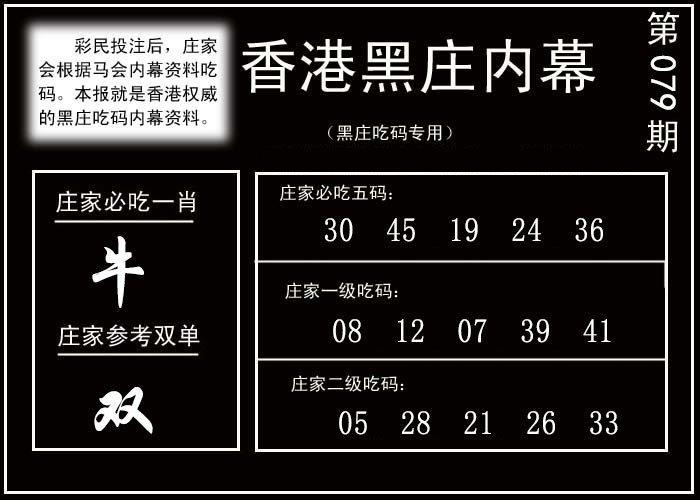 080期香港黑庄内幕