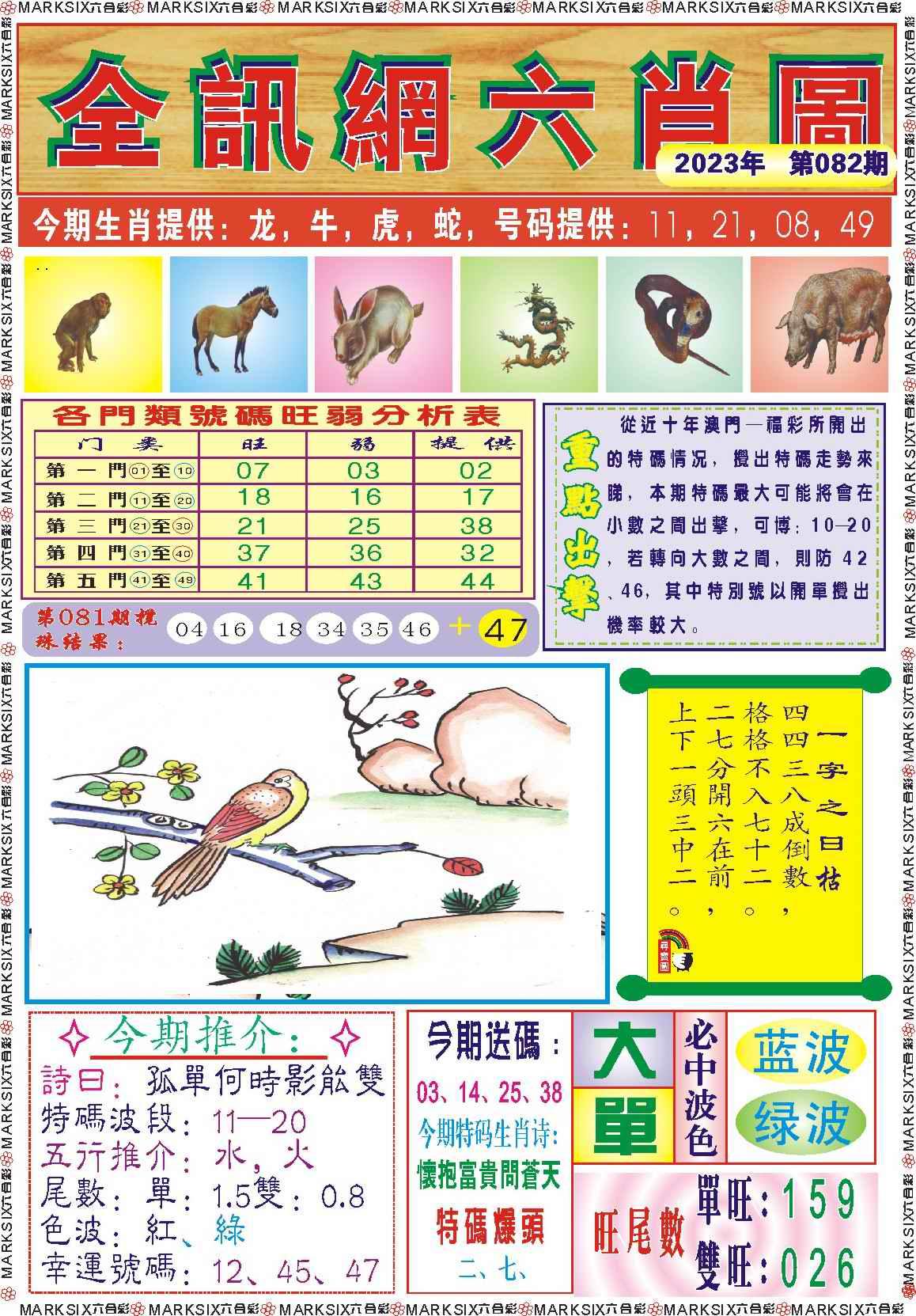 082期全讯网六肖图记录