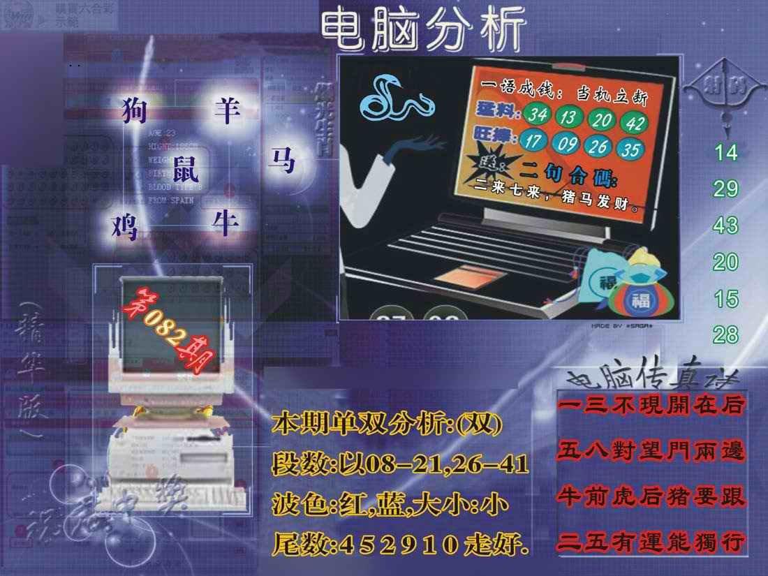 082期正版电脑分析贴士