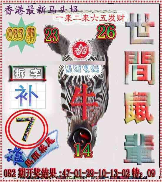 083期香港马头报