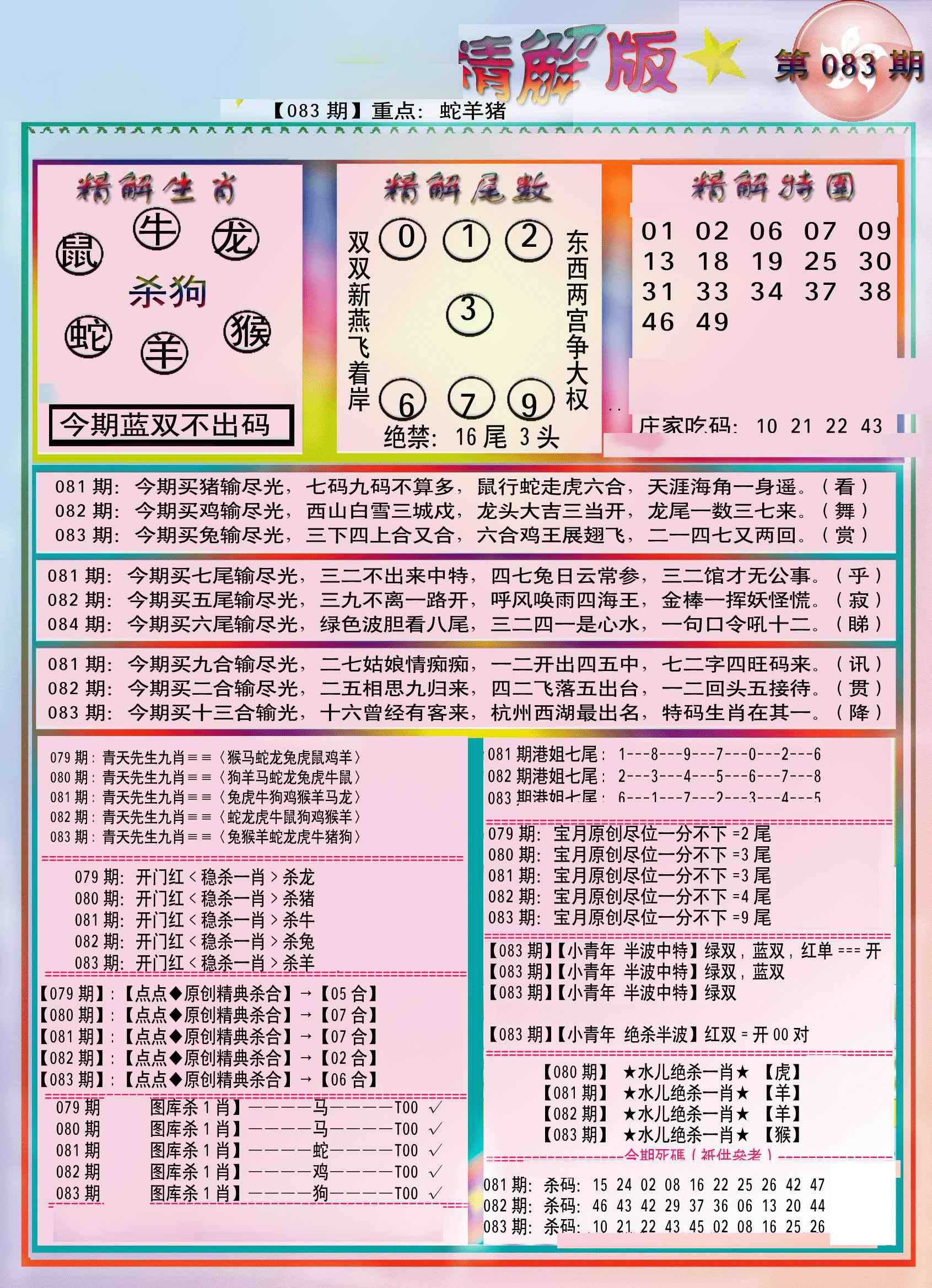 083期精解版-彩