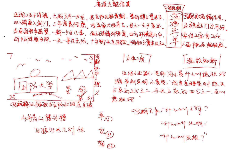084期九龙传真(手写)